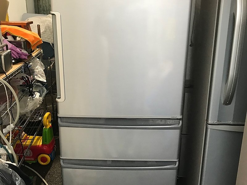 大型冷蔵庫!高価買取り致しました!420L 38,000円!