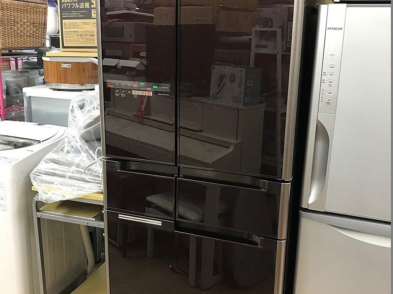 6ドア冷蔵庫 40,000円で高額買取!