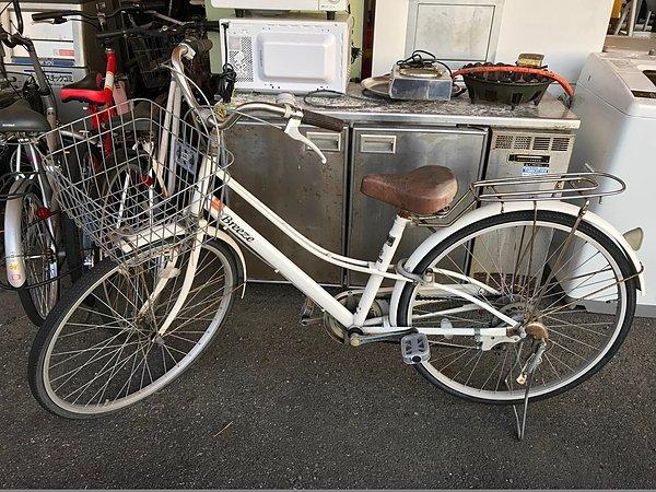 自転車!!! 買取!!! 処分いたします!!!の画像