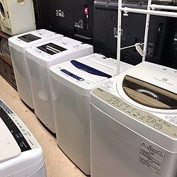 洗濯機!!! 中古から新品まで多数展示しています!!!のイメージ